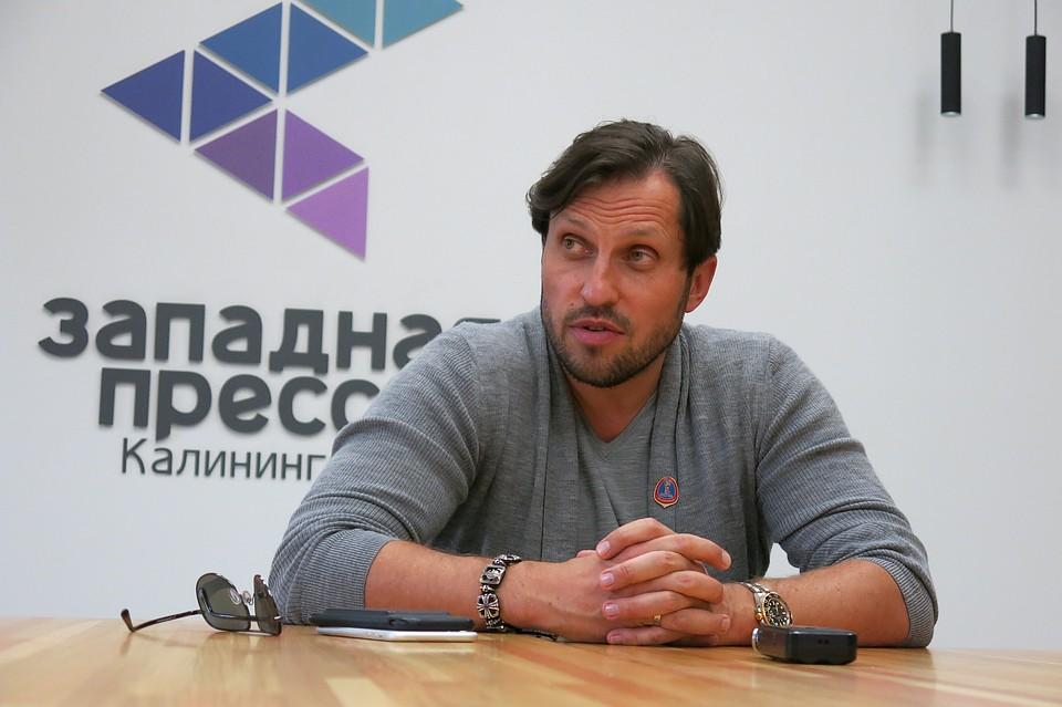 Шоумен Александр Ревва стал послом Калининграда наЧМ