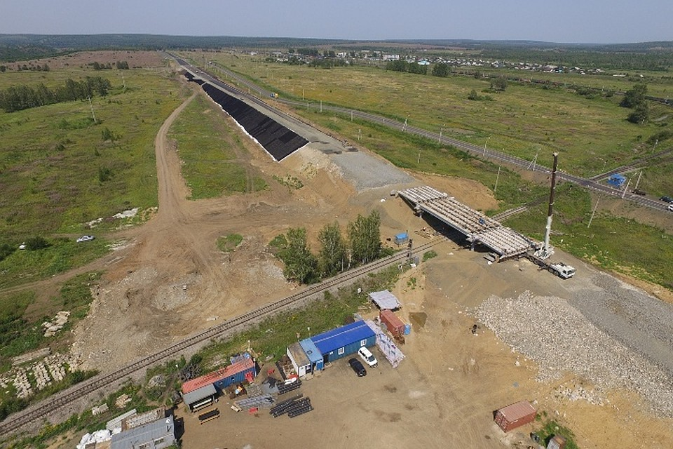 Дорогу «Сибирь» под Тулуном расширяют, чтобы вдвое увеличить пропускную способность