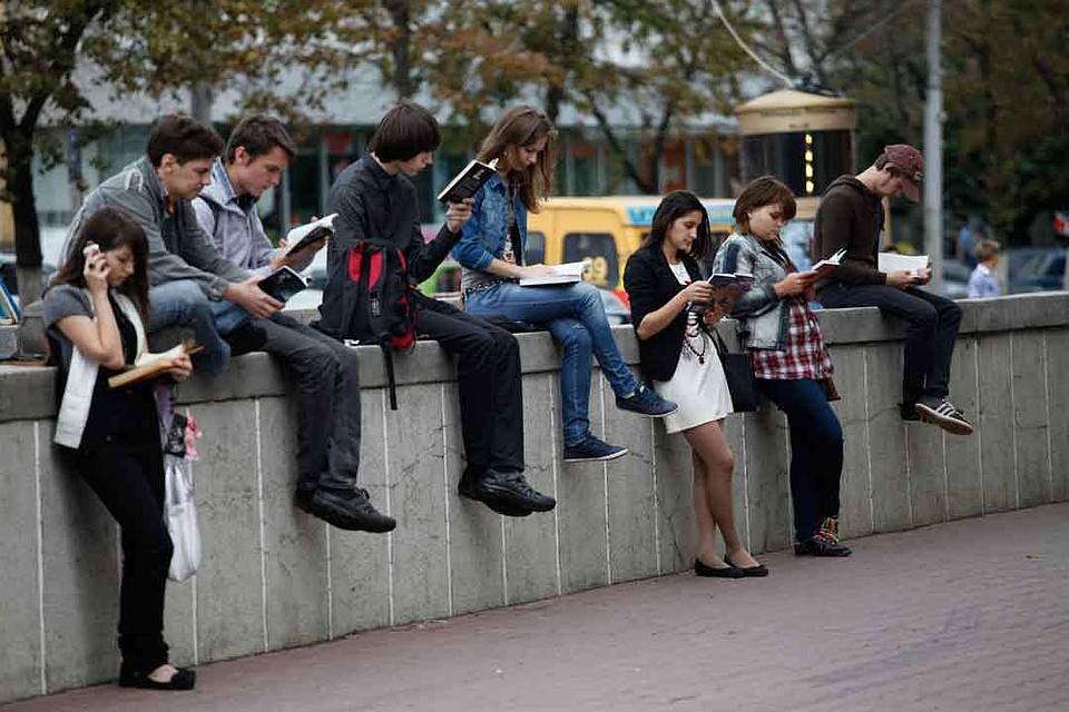 Москва обошла Петербург врейтинге читающих городов Российской Федерации