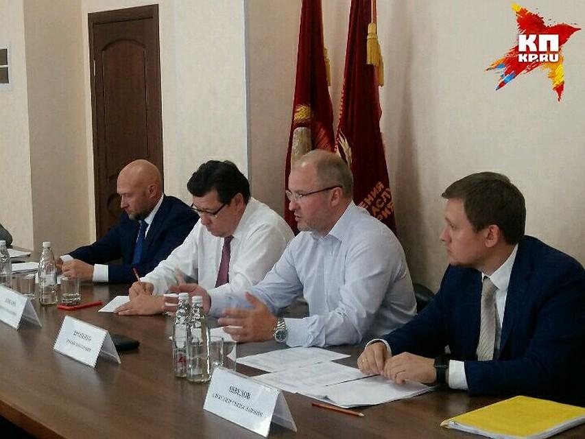 Власти Волгоградской области ведут переговоры помодернизации «Химпрома»