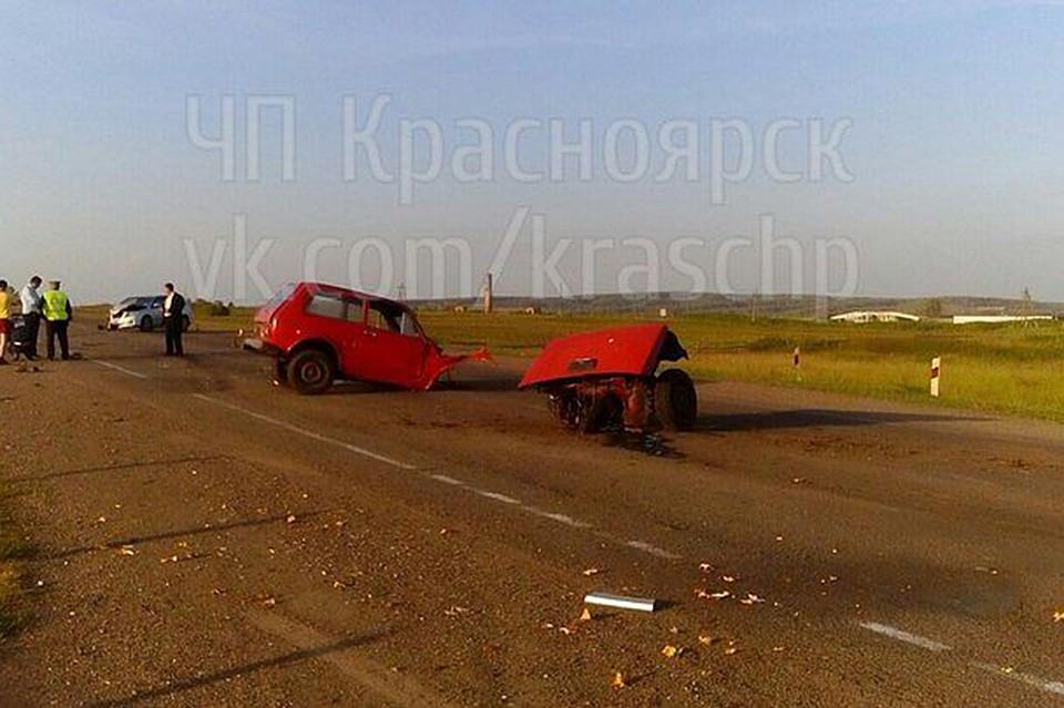 ВДТП натрассе Красноярск— Енисейск пострадал 11-летний ребенок