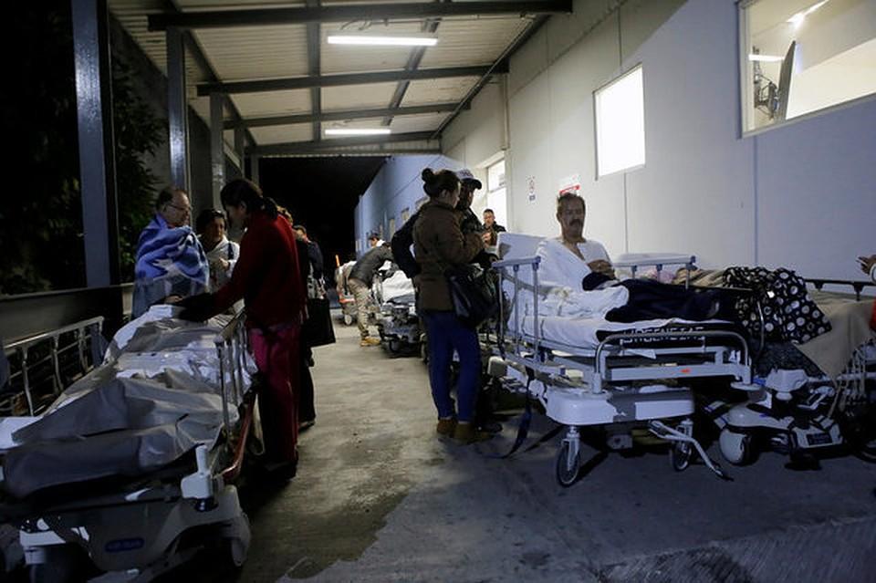 Как минимум  2-х  человек погибло вМексике в итоге  землетрясения