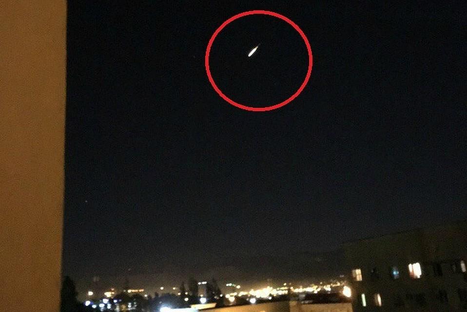 Свидетели говорили о падении метеорита наКубани