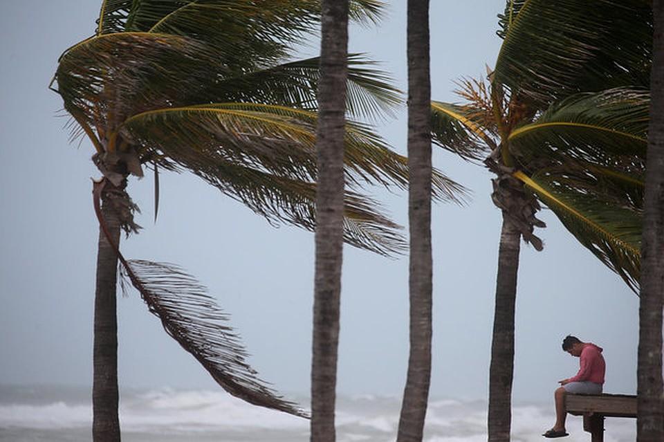 Тайм-лапс видео вчерашнего урагана в москве