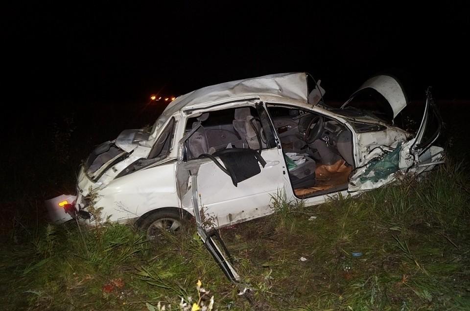 ВИланском районе вДТП пострадали шесть человек иодин умер