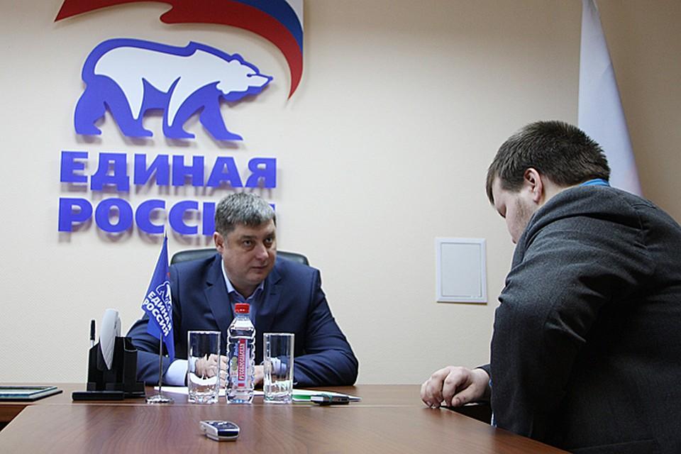 Депутат Заксобрания Кировской области Валерий Крепостнов написал объявление опрекращении полномочий