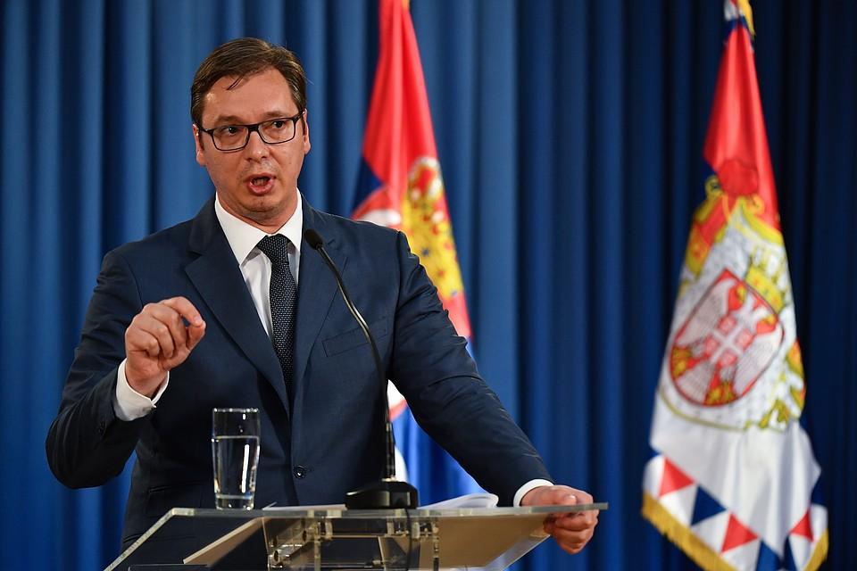 Приоритет Сербии: Вучич объявил, что полноправное членство вЕС