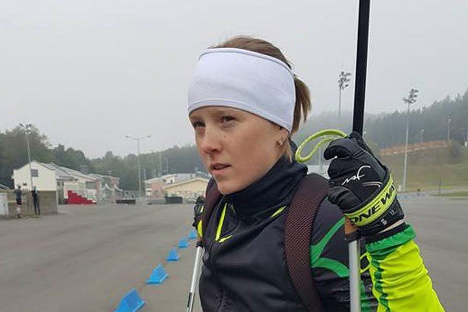 Белорусская биатлонистка Дарья Блашко будет выступать засборную Украинского государства