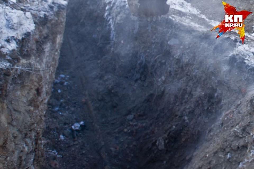 НаУрале женщина упала ввырытую коммунальщиками яму исломала руку