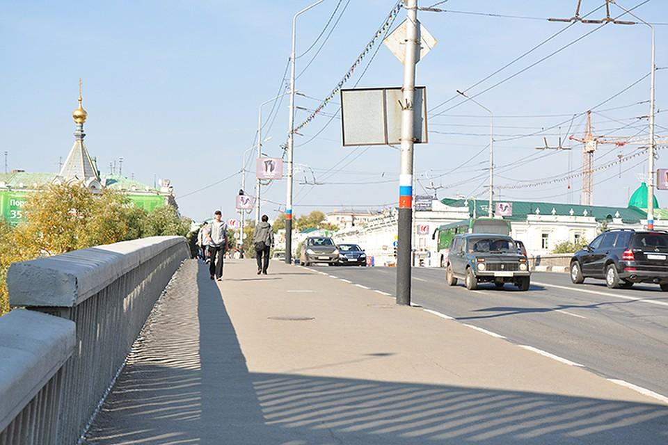 Юбилейный мост вОмске без ремонта простоялбы максимум 10 лет