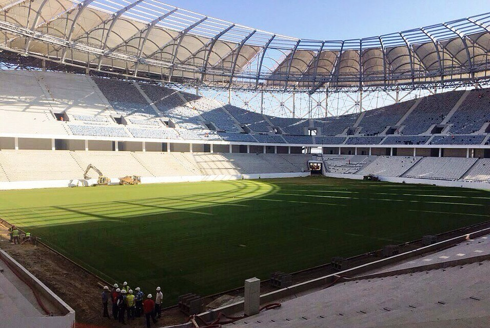«Екатеринбург-арена» примет первые матчи весной 2018 года