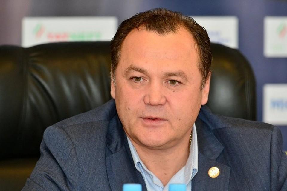 Якубов заменит Шавалеева напосту гендиректора «АкБарса»