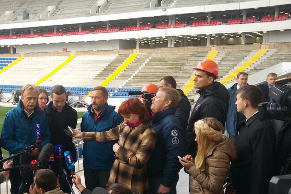 Стадион будет создан всрок— Губернатор Ростовской области