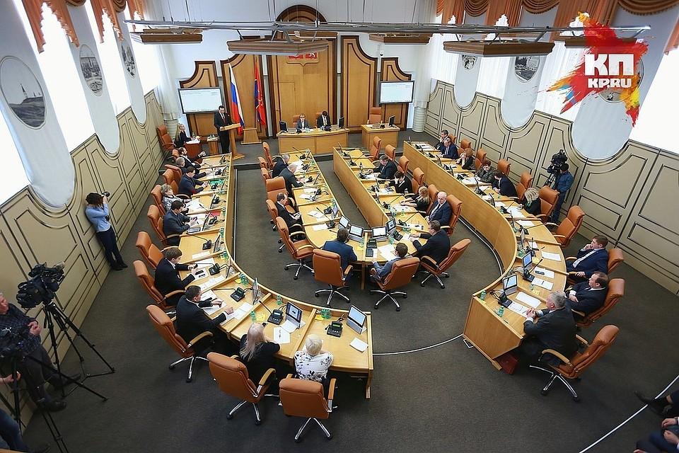 Красноярские народные избранники недоговорились овыборах главы города
