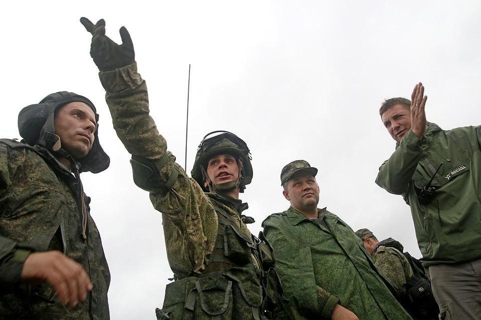Впсковских лесах работают русские ибелорусские снайперы