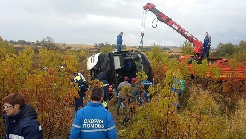 После смертоносного  ДТП савтобусом вПодмосковье возбуждено уголовное дело