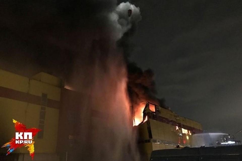 Названа предварительная сумма ущерба впожаре  вТЦ «Синдика»