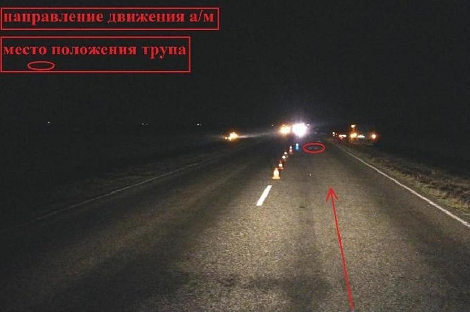 Шофёр насмерть сбил пешехода и исчез наСтаврополье