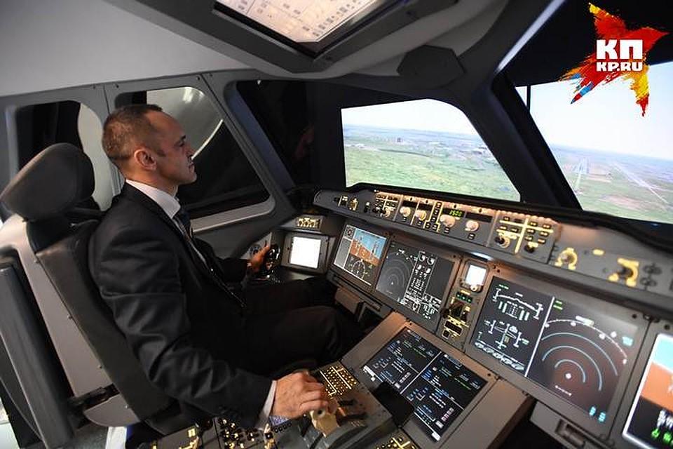 Вовремя полёта из столицы вМурманск усамолёта треснуло стекло