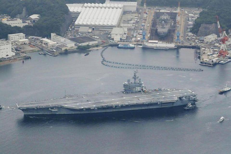 Уберегов КНДР начались общие учения ВМС США иЮжной Кореи