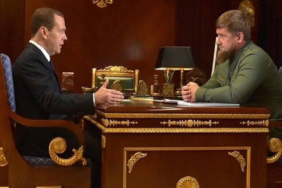 Медведев подчеркнул  развитие сельского хозяйства исистемы образования вЧечне