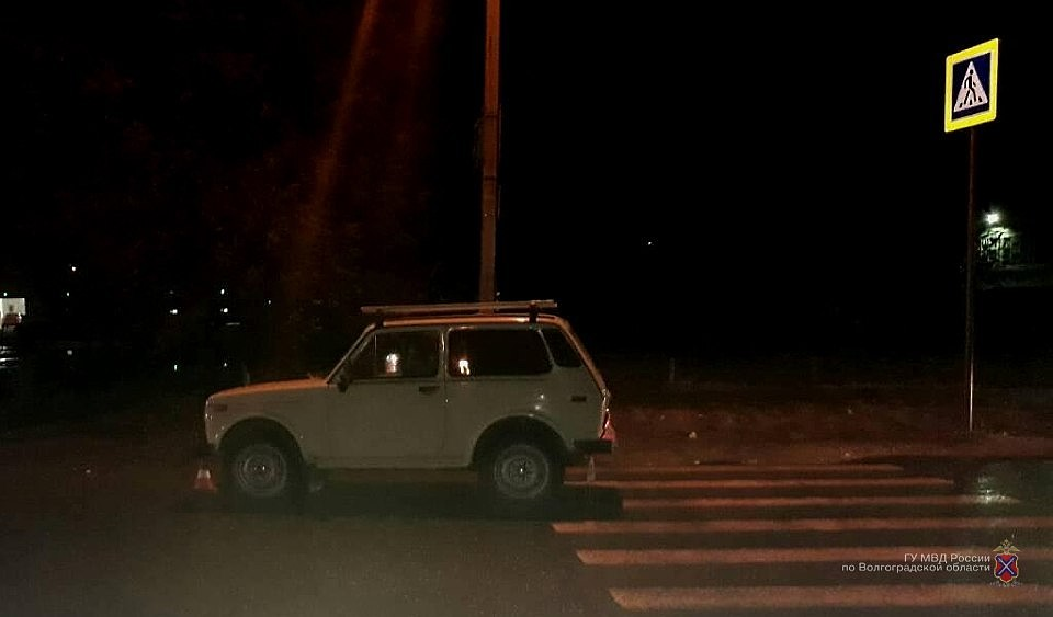 ВВолгограде шофёр «Нивы» сбил троих человек назебре