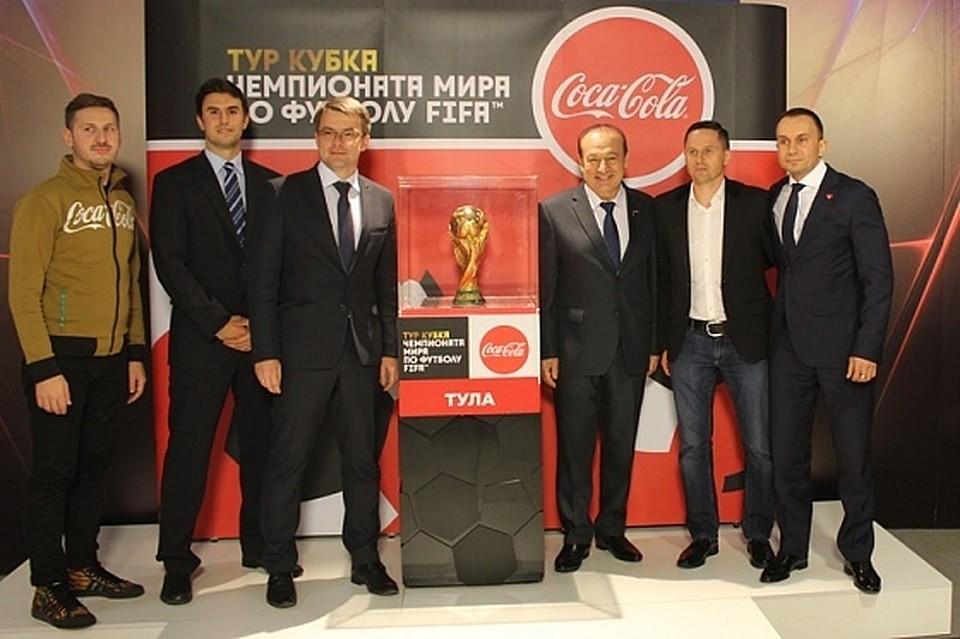 Кубок чемпионата мира пофутболу прибыл вКурск