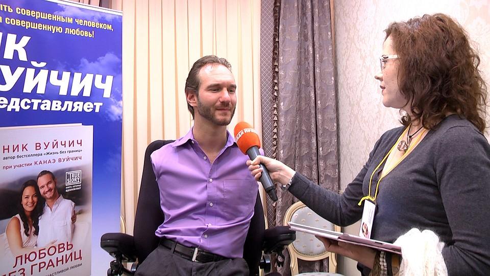 Лекция Ника Вуйчича стала самой посещаемой наВсемирном фестивале вСочи