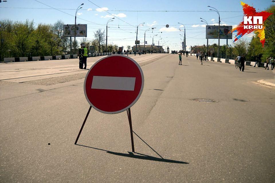 Напутепроводе наМосковском шоссе вводятся ограничения для проезда грузового транспорта