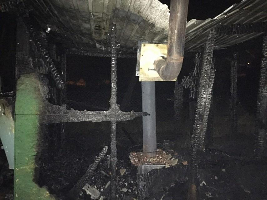 ВАлексине наТульской сгорел «Москвич»