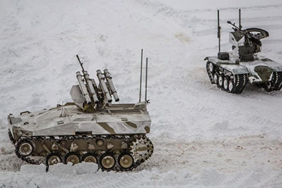 Навооружение русской армии поступит боевой робот «Нерехта»