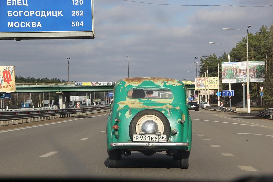 ВВоронеже пройдет выставка ипоказательные выступления ретро-автомобилей