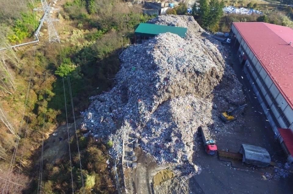 Стерритории Сочи вывезли 50 тыс. тонн мусора