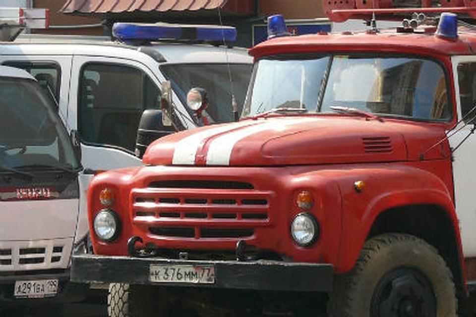 Вцентре Омска сгорел клуб-бар без огнетушителей