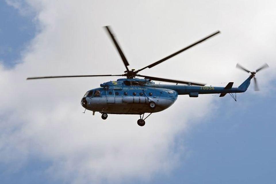 МЧС завершило спасательную операцию наместе падения вертолета наШпицбергене