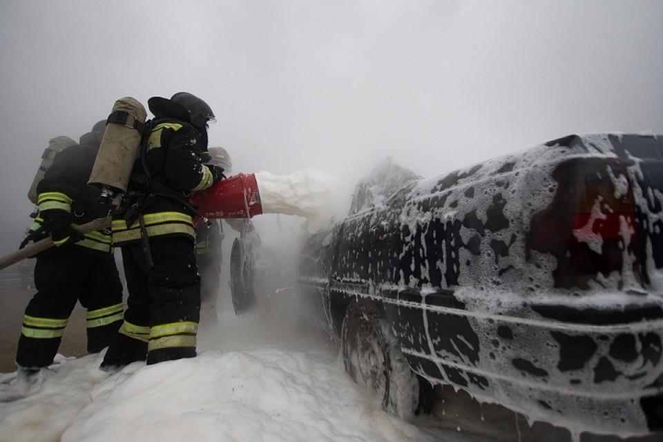 ВКалининграде пенсионер спалил чужой «Мерседес»