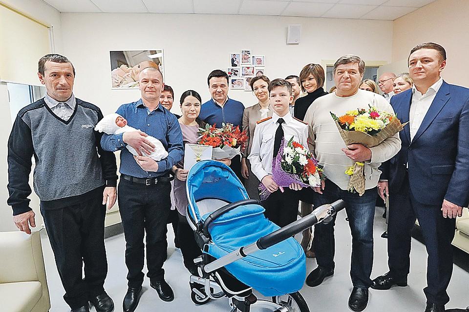 Подмосковье назвали лидером поколичеству перинатальных центров в РФ