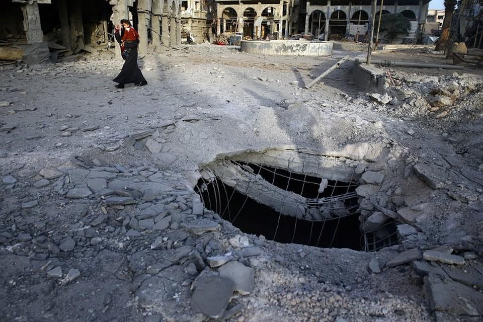 Один человек умер в итоге минометного обстрела центра Дамаска