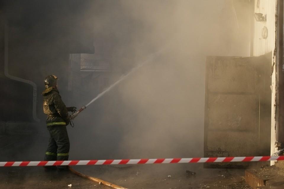 ВИркутске напожаре погибли бабушка свнуком