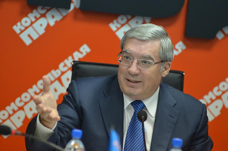 Толоконский займется разработкой 12-летней стратегии развития Новосибирской области