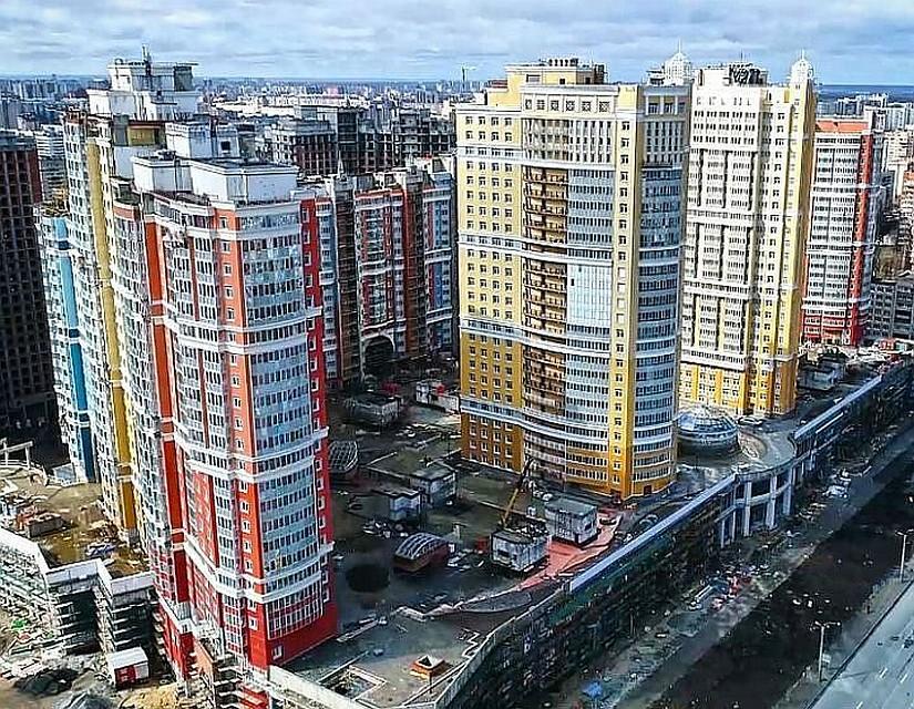 ВПетербурге вIII квартале на111% выросло предложение апартаментов