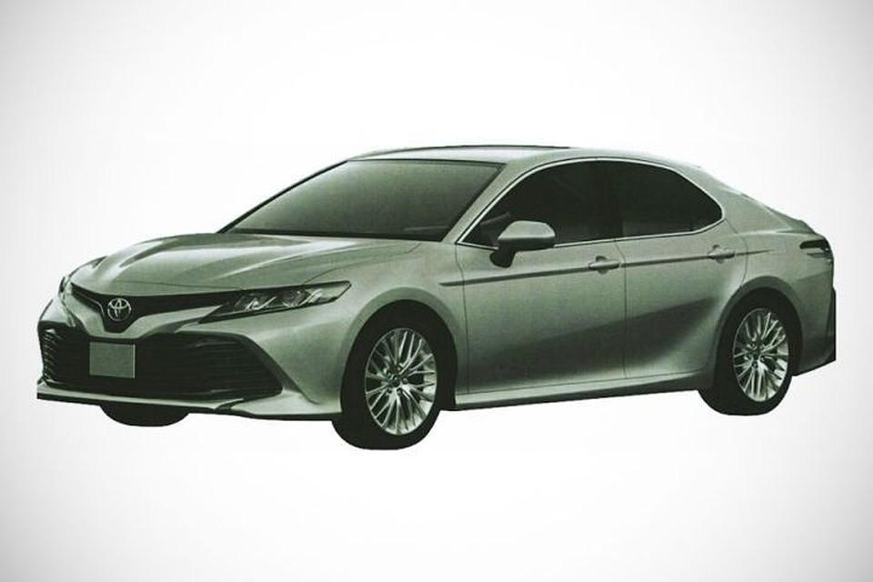 Появились изображения новейшей Тойота Camry для Российской Федерации