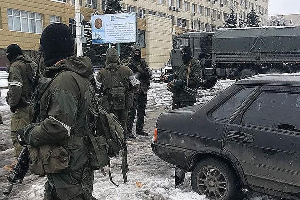 ВЛуганске наблюдатели ОБСЕ зафиксировали военную технику