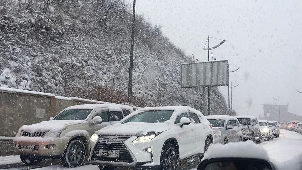 Приморская Госавтоинспекция просит водителей быть осторожными вэти выходные