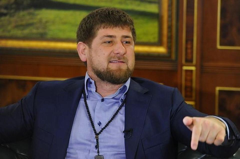 Кадыров назвал выдумкой защитников прав человека тему преследования геев вЧечне