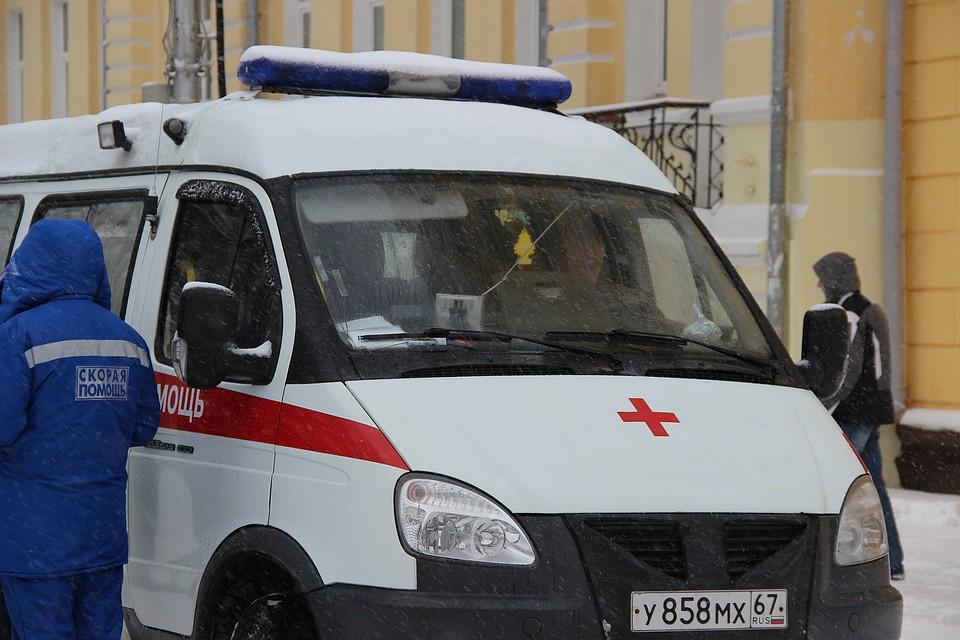 Шофёр грузового автомобиля скончался вСмоленской области при встрече с«Камазом»