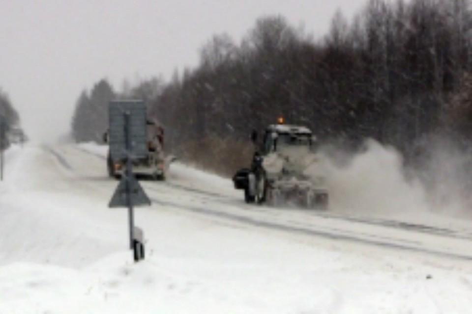 ВХабаровском крае две дороги закрыли для автобусов из-за гололеда
