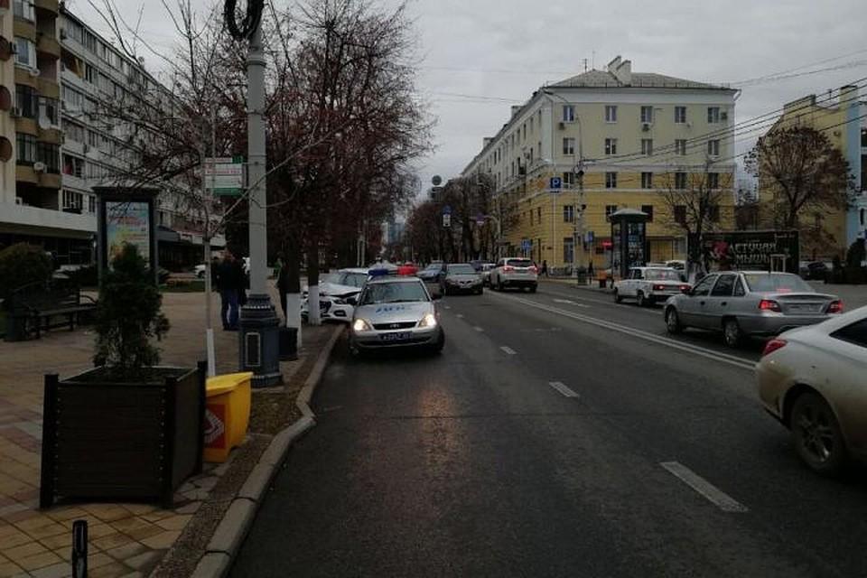 Вцентре Краснодара мужчина сбил 11-летнего ребенка наКрасной