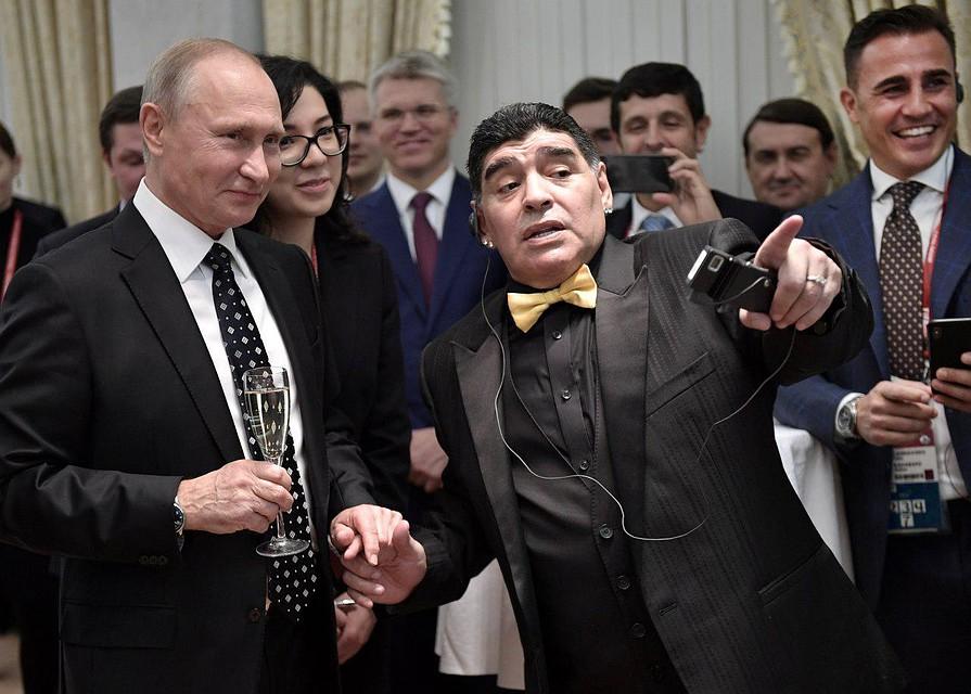 Путин: Российская Федерация проведет ЧМ-2018 насамом высоком уровне