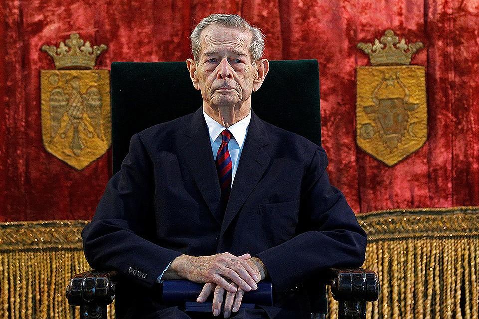 ВШвейцарии скончался экс-король Румынии Михай I